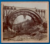Photo Pont Grand Duc Adolphe construction 1900 1903 Luxembourg