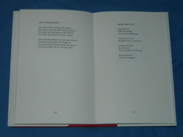 Maß Der Mächte V Delcourt Luxemburg Gedichte 1980 G