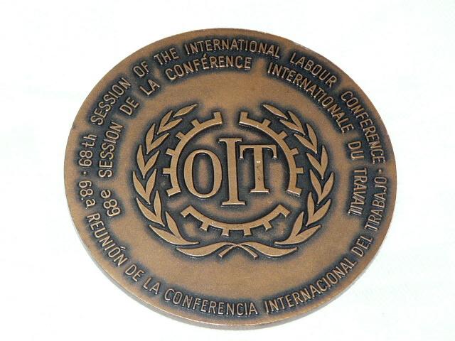 Papst Johannes Paul Ii Pp Ii 1982 Oit Medaille 68 Organisation