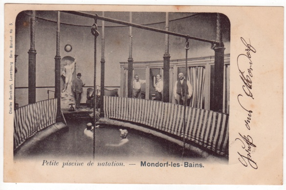 Mondorf les bains 1901 petite piscine de natation charles for Piscine mondorf