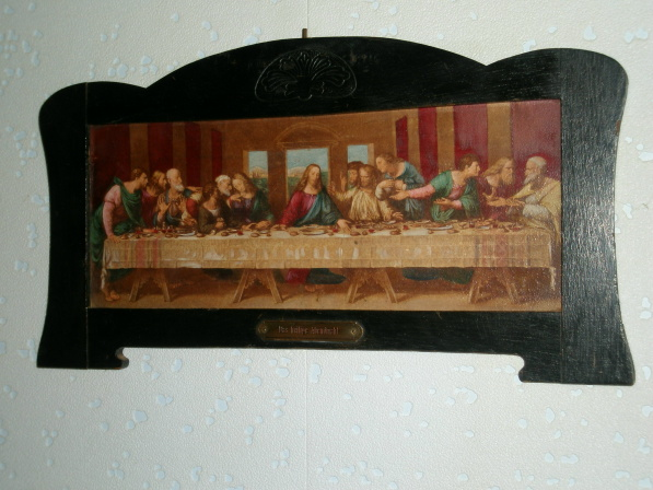Jugendstil Art Nouveau The holy supper Das heilige Abendmahl Das