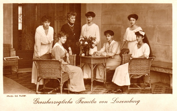 Grossherzogliche Familie von Luxemburg Photo. Ed- Kutter  Paul W