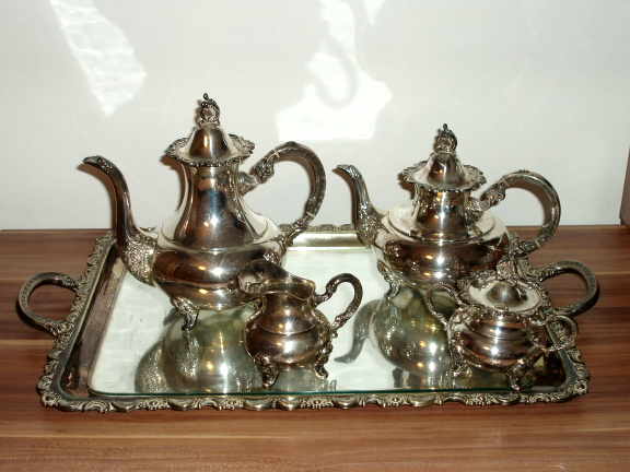 925 Sterling Silber Kaffee Tee Garnitur Ott Pauser Coffee Tea se
