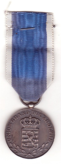 Luxembourg Union Grand-Duc Adolphe Médaille UGDA Medal Folklore