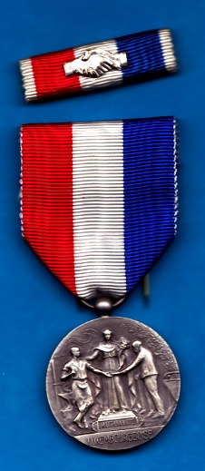 Medal Luxemburg service of the National Federation of Mutual sil