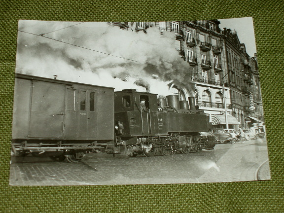 Charly Zug Luxembourg Train 1944 1955 Gare J. Proess Bonnevoie L