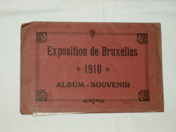 Exposition Bruxelles 1910 Album Souvenir 12 illustrations pavill