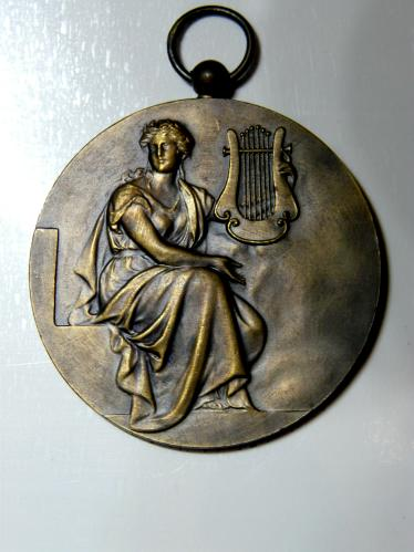 Dommeldange Luxembourg 1936 Choral Society Medaille Medal Grand