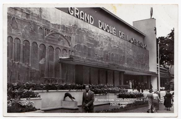 Grand-Duché de Luxembourg Exposition Internationale Paris 1937 1