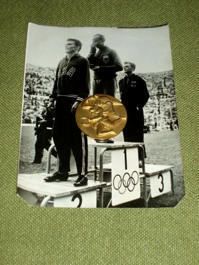 Luxembourg Barthel Josy Olympia 1952 Helsinki medal photos Revue