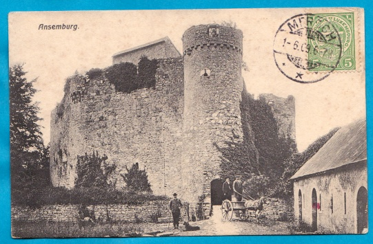Ansembourg Luxemburg Le Château 1909 Luxembourg Ch. Bernhoeft