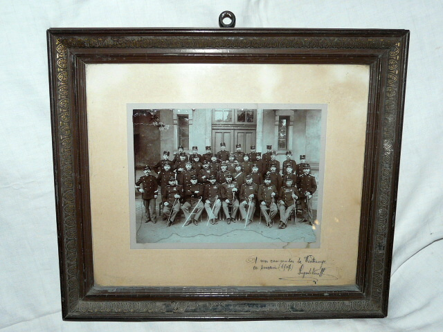 Pompiers Bonnevoie Wintrange 1907 Bonneweg Luxembourg Photo orig