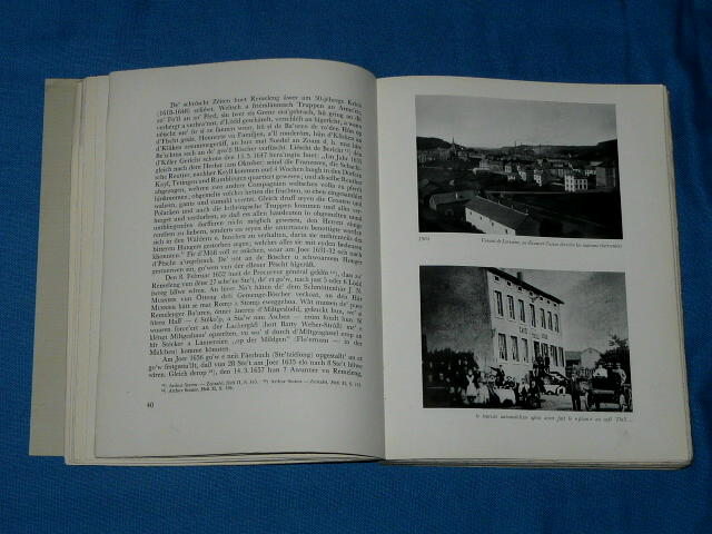 Rumelange 1907 1957 Luxembourg Roches Rouges Rëmeleng Luxemburg