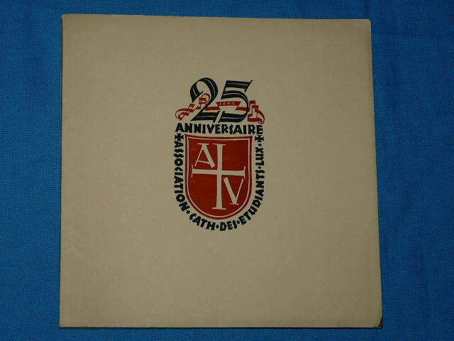 Association Catholique Etudiants Luxembourg 1910 1935 Academia K