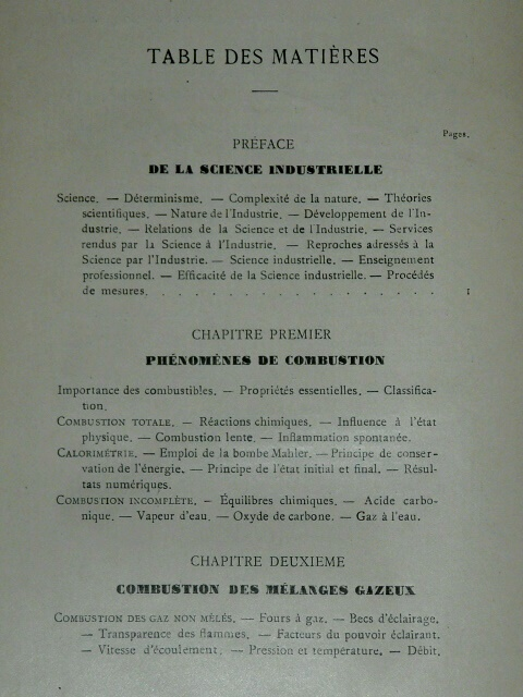 Introduction Etude Métallurgie Chatelier 1912 industriel chauffa