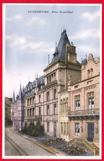 Luxembourg Palais Grand Ducal Wilca W. Capus No 6 Luxemburg 18,2
