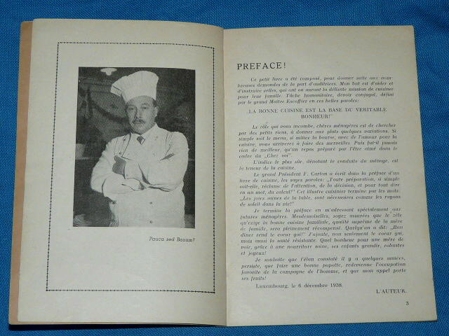 200 Recettes Culinaires Oscar Schieb 1938 Radio Luxembourg