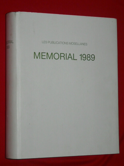 Memorial 1839 1989 Mosel Mosellanes Luxembourg M. Gerges Schwebs